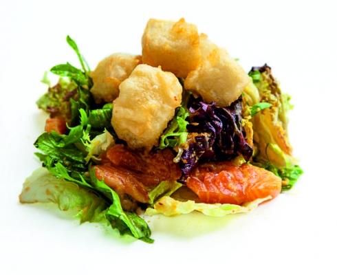 Из лосося с тофу