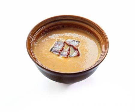 Крем-суп из Тыквы с угрем