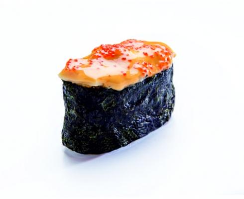 Суши запеченные с мидиями