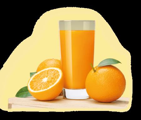 Апельсиновый свежевыжатый сок 0,5 л